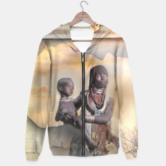 Thumbnail image of Mother from Africa Hoodie, Live Heroes
