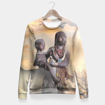 Thumbnail image of Mother from Africa Fitted Waist Sweater, Live Heroes