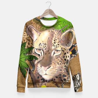Thumbnail image of Animals of Africa Fitted Waist Sweater, Live Heroes
