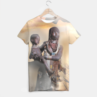 Thumbnail image of Mother from Africa T-shirt, Live Heroes