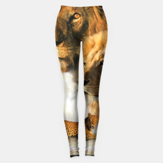 Thumbnail image of Wild Animals Leggings, Live Heroes