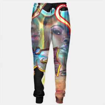 Thumbnail image of I love africa Sweatpants, Live Heroes