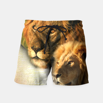 Wild Animals Swim Shorts thumbnail image
