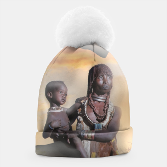 Thumbnail image of Mother from Africa Beanie, Live Heroes