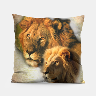 Wild Animals Pillow thumbnail image