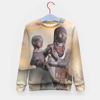 Thumbnail image of Mother from Africa Kid's Sweater, Live Heroes