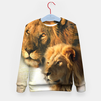 Thumbnail image of Wild Animals Kid's Sweater, Live Heroes
