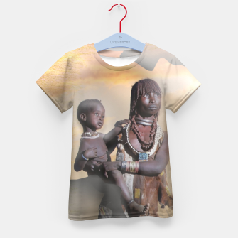 Thumbnail image of Mother from Africa Kid's T-shirt, Live Heroes