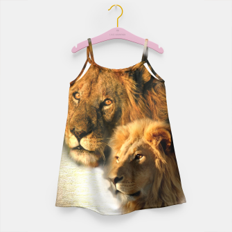 Thumbnail image of Wild Animals Girl's Dress, Live Heroes