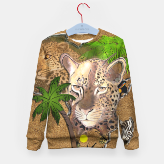 Thumbnail image of Animals of Africa Kid's Sweater, Live Heroes
