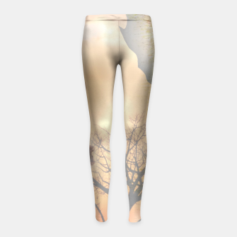 Thumbnail image of Mother from Africa Girl's Leggings, Live Heroes
