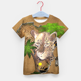 Thumbnail image of Animals of Africa Kid's T-shirt, Live Heroes