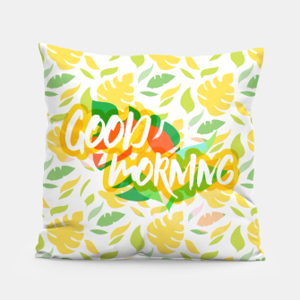 Thumbnail image of Good Morning ! Coussin, Live Heroes