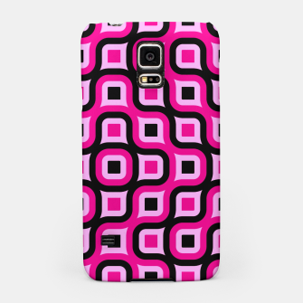 Thumbnail image of pink and black geometric abstract Samsung Case, Live Heroes