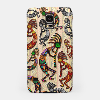 Thumbnail image of Kokopelli Tribal Pattern  Samsung Case, Live Heroes