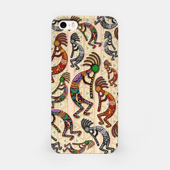 Thumbnail image of Kokopelli Tribal Pattern  iPhone Case, Live Heroes