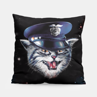 Thumbnail image of Police Cat Pillow, Live Heroes