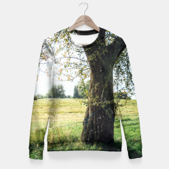 Thumbnail image of Countryside Tree Fitted Waist Sweater, Live Heroes