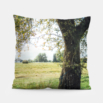 Thumbnail image of Countryside Tree Pillow, Live Heroes