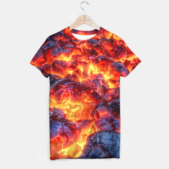 Thumbnail image of Glowing Embers T-shirt, Live Heroes