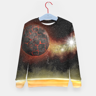 Thumbnail image of Starfield - it all started with a big bang Kid's Sweater, Live Heroes