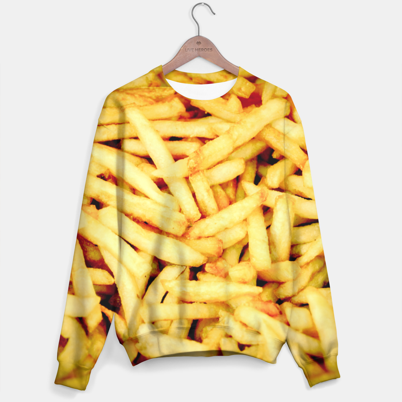 Image of French Fries Sweater - Live Heroes