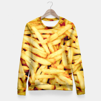 French Fries Fitted Waist Sweater thumbnail image