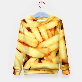 French Fries Kid's Sweater thumbnail image