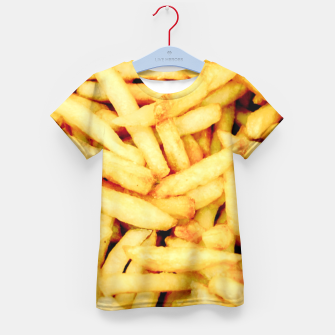 French Fries Kid's T-shirt thumbnail image