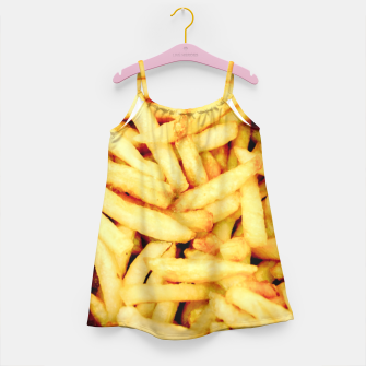 French Fries Girl's Dress thumbnail image