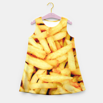French Fries Girl's Summer Dress thumbnail image