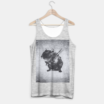 Thumbnail image of Angy Hamster Mouse Tank Top regular, Live Heroes
