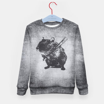 Miniature de image de Angy Hamster Mouse Kid's Sweater, Live Heroes