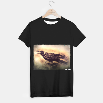 Thumbnail image of Crow T-shirt regular, Live Heroes