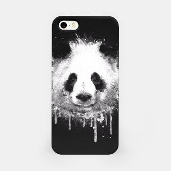 Miniature de image de Cute Black & White Watercolor Panda  iPhone Case, Live Heroes