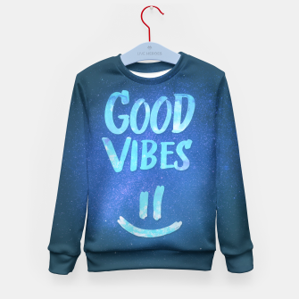 Miniature de image de Good Vibes Kid's Sweater, Live Heroes
