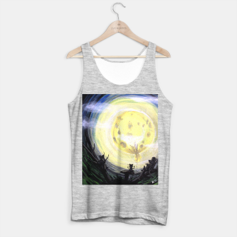 Thumbnail image of Is it moon Tank Top regular, Live Heroes