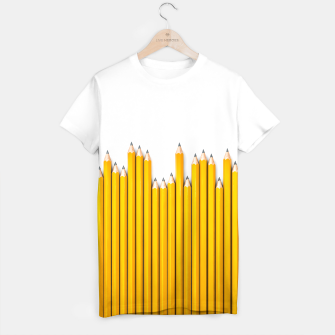 Thumbnail image of Pencil Row T-shirt, Live Heroes