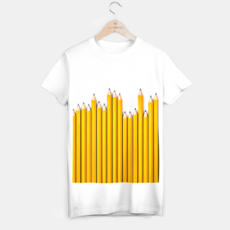 Thumbnail image of Pencil Row T-shirt regular, Live Heroes