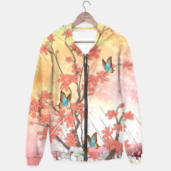 Thumbnail image of Ikebana display Hoodie, Live Heroes