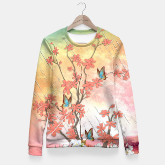 Thumbnail image of Ikebana display Fitted Waist Sweater, Live Heroes