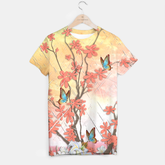Thumbnail image of Ikebana display T-shirt, Live Heroes