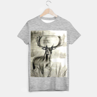 Thumbnail image of Pencil Deer T-shirt regular, Live Heroes