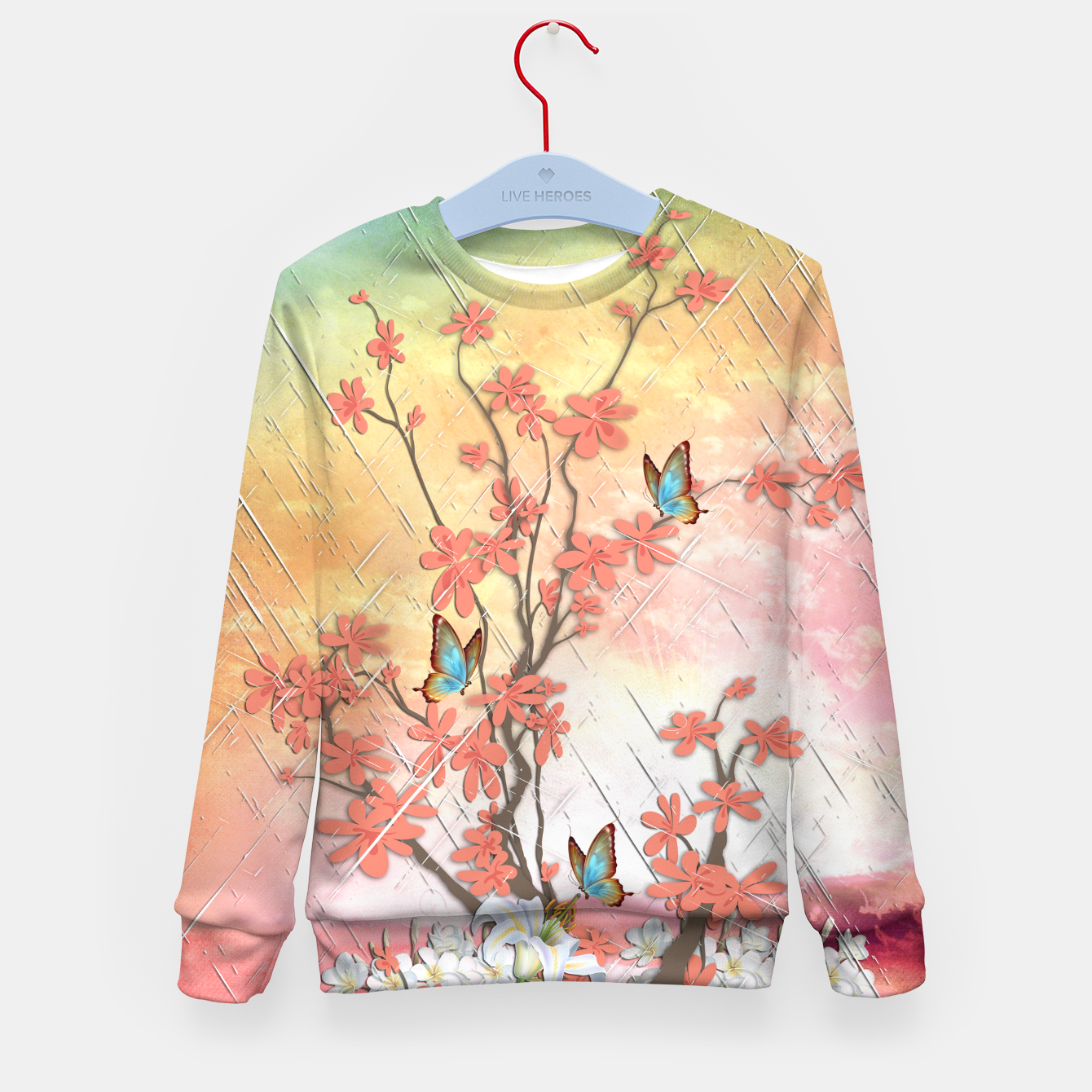 Image of Ikebana display Kid's Sweater - Live Heroes