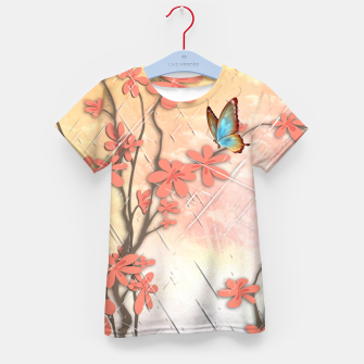 Thumbnail image of Ikebana display Kid's T-shirt, Live Heroes