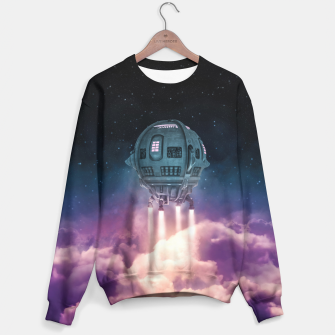 Thumbnail image of Out of the Atmosphere Sweater, Live Heroes