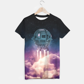 Thumbnail image of Out of the Atmosphere T-shirt, Live Heroes