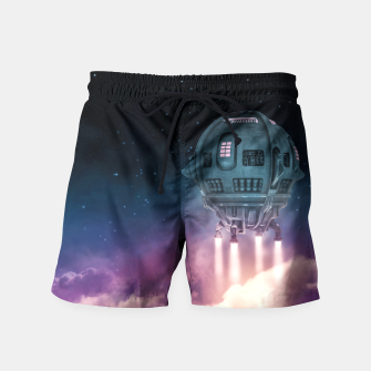 Miniatur Out of the Atmosphere Swim Shorts, Live Heroes