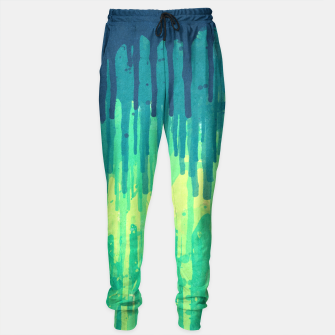 Miniature de image de Green Grunge Color Splatter Graffiti Backstreet Wall Background  Sweatpants, Live Heroes