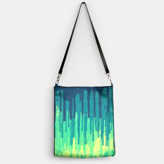 Thumbnail image of Green Grunge Color Splatter Graffiti Backstreet Wall Background  Handbag, Live Heroes